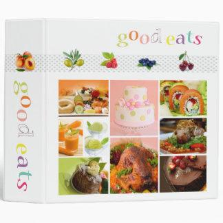 Good Eats, family recipes binders