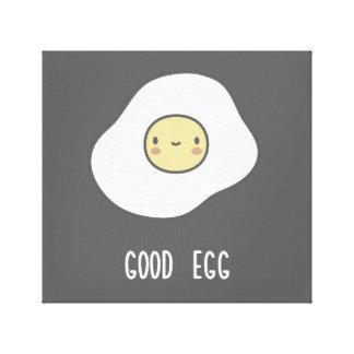 Good Egg Canvas Print