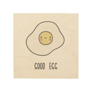 Good Egg Wood Wall Art