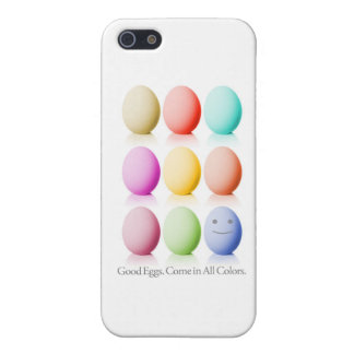 Good Eggs. Come In All Colors. Case For iPhone SE/5/5s
