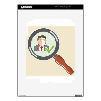 Good employee Background check Ok Decals For The iPad 2