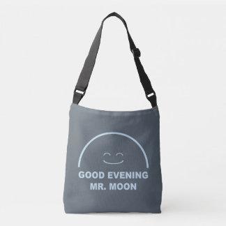 Good Evening Mr. Moon Crossbody Bag