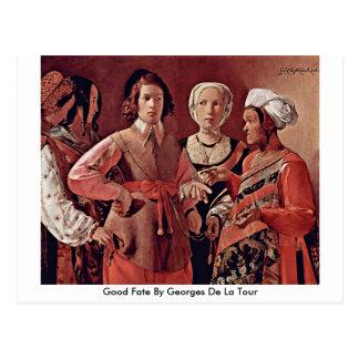Good Fate By Georges De La Tour Postcard