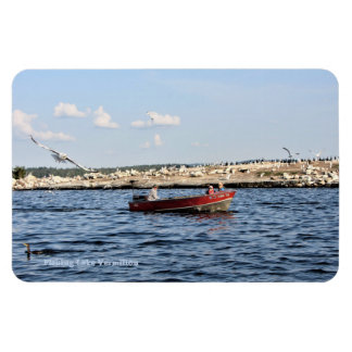 Good Fishing On Lake Vermilion Magnet