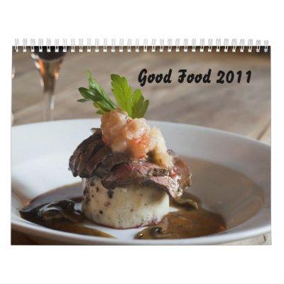 Good Food 2011 Wall Calendars