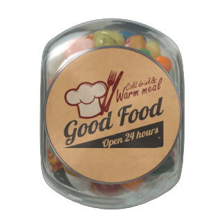 Good Food Glass Jars