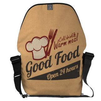 Good Food Messenger Bag