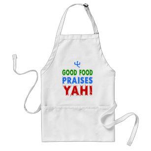 Good Food Praises Yah! Adult Apron