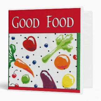 Good Food Recipe Binder
