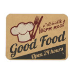 Good Food Rectangular Photo Magnet