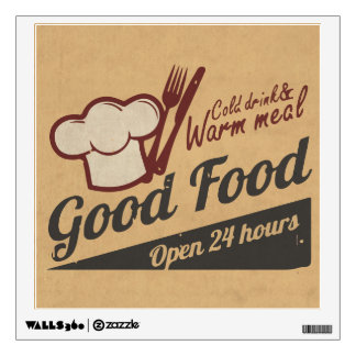Good Food Wall Sticker