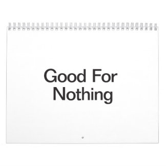 Good For Nothing.ai Calendar