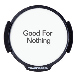 Good For Nothing.ai LED Car Decal