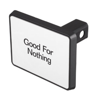 Good For Nothing.ai Trailer Hitch Cover