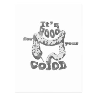 Good for your Colon Funny Graphic Postcard