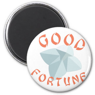 Good Fortune 2 Inch Round Magnet