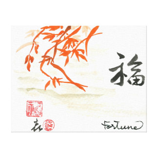 Good Fortune Canvas Prints