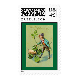 Good Fortune on St Patrick's  Postage