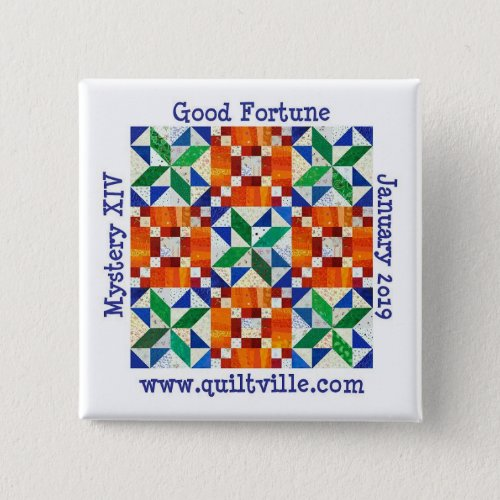 Good Fortune Pinback button