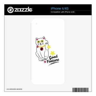 Good Fortune Skins For The iPhone 4