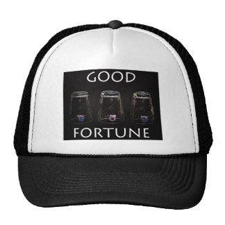 Good fortune trucker hat