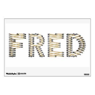 Good FRED Logo Wall Label Wall Sticker