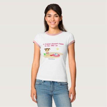 Beach Themed Good friendly 2 T-Shirt
