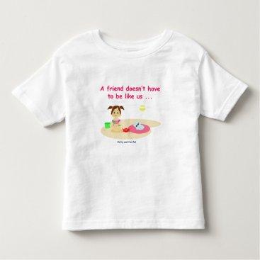 Beach Themed Good friendly 2 toddler t-shirt