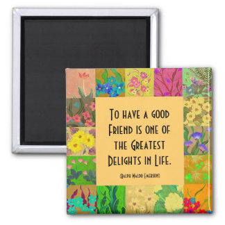 good friends 2 inch square magnet