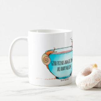 Good Friends and Good Coffee mug