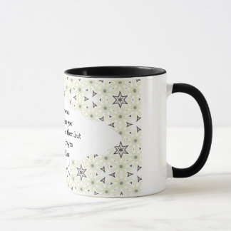 Good friends  are like stars Custom Quote Mug
