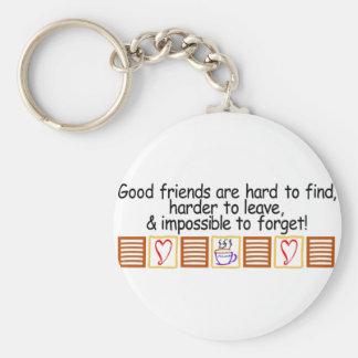 Good Friends Keychain
