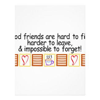 Good Friends Letterhead