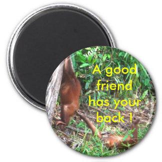 Good Friends magnet