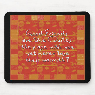 Good Friends Mousepad