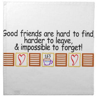 Good Friends Napkin