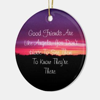 Good Friends - Ornament