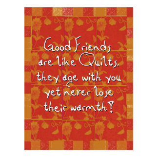 Good Friends Postcard
