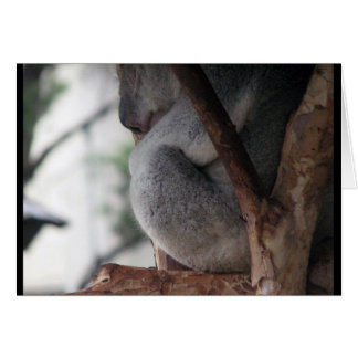 Good Friends Sleepy Koala Bear Card