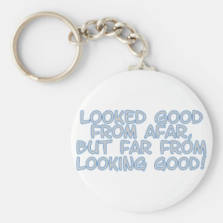 Good From Afar Keychain