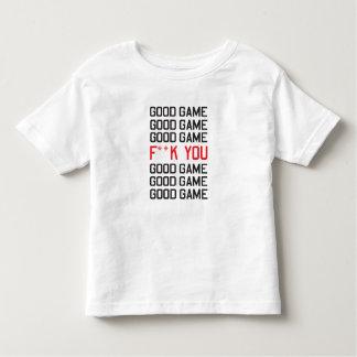 Good Game F**K You Toddler T-shirt