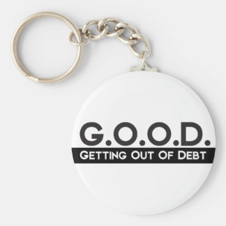 Good Getting Out of Debt Keychain