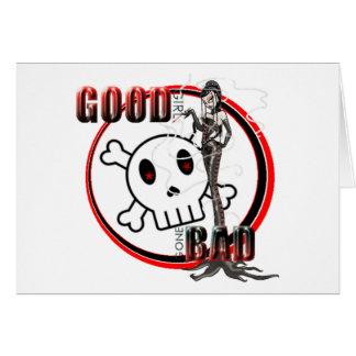 Good Girl Gone Bad - Note Card