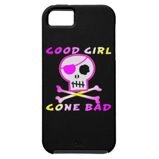 Good Girl Gone Bad Pirate Skull iPhone SE/5/5s Case