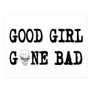GOOD GIRL GONE BAD POSTCARD