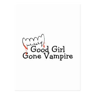 Good Girl Gone Vampire Postcard