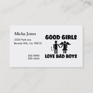 Bad Devil Business Cards Zazzle