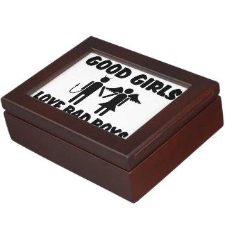 Good Girls Love Bad Boys Keepsake Box