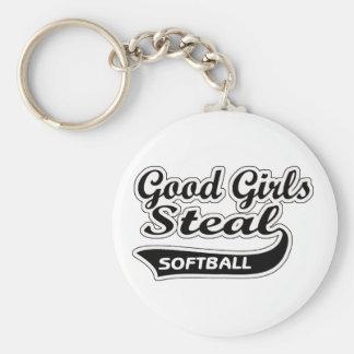 Good Girls Steal (black) Keychain