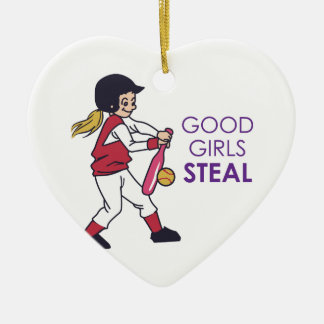Good Girls Steal Ceramic Ornament